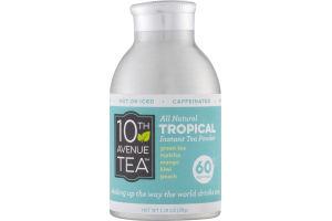 10th Avenue Tea All Natural Tropical Instant Tea Powder