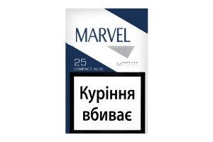 Сигареты с фильтром Compact Blue Marvel 25шт