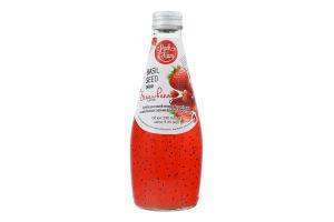 Напій безалкогольний негазований з насінням базиліку Полуниця Luck Siam с/пл 290мл