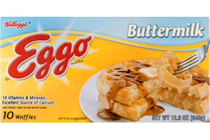 Kellogg's® Eggo® Buttermilk Waffles 10 ct Box