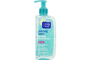 Clean & Clear Morning Burst Oil-Free Hydrating Facial Cleanser