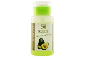 НОГОТОК засіб д/зняття лаку Biointensive Масло ши+авокадо 150мл