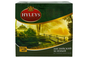 Чай Английский Зеленый Hyleys 150г