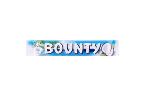 Конфета с мякотью кокоса, покрытая молочным шоколадом Bounty м/у 2х28.5г