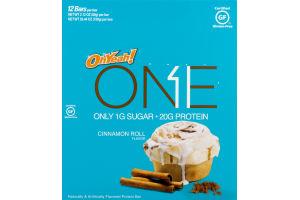 OhYeah! One Protein Bar Cinnamon Roll - 12 CT