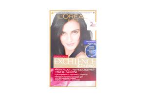 Крем-краска для волос №200 Кофейный Crème Excellence L'Oreal 1шт
