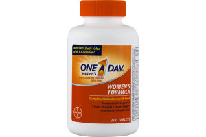 One A Day Women's Multivitamin Women's Formula Tablets - 200 CT