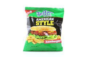 Сухарики со вкусом гамбургера American style Flint м/у 90г