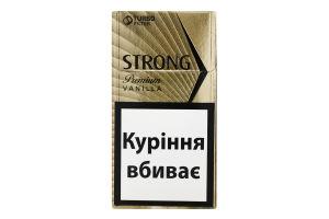 Сигарили з фільтром Strong Premium Vanilla 20шт
