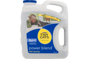Purina Tidy Cats Power Blend Premium Super-Absorbent Crystals