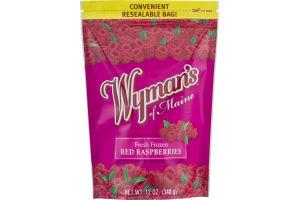 Wyman's Of Maine Fresh Frozen Red Raspberries