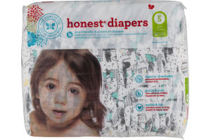 The Honest Co. Honest Diapers Space Travel Size 5 - 25 CT