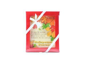 Шоколад листівка Осіннє листя 100г