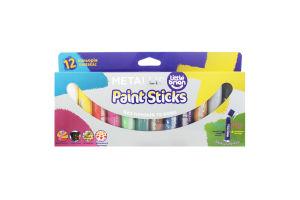 Краска-карандаш Little Brian Paint Sticks Metallic