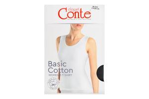 Майка жіноча Conte elegant Basic Collection №LM2020 170-84/XS black