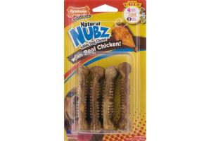 Nylabone Edibles Natural Nubz Dog Chews - 4 CT