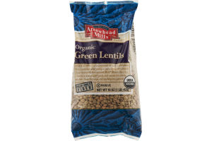 Arrowhead Mills All Natural Organic Green Lentils
