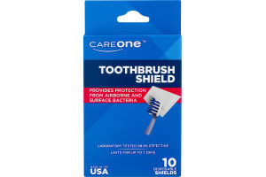 CareOne Toothbrush Shield - 10 CT