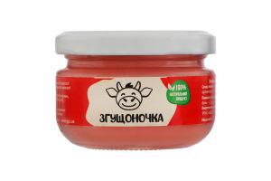 Молоко сгущенное со вкусом клубники Згущоночка с/б 150г
