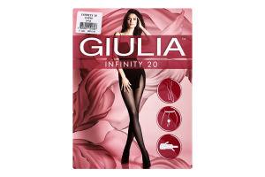 Колготки жіночі Giulia Infinity 20den 3-M daino