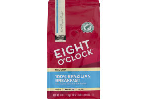 Eight O'Clock Ground 100% Brazilian Breakfast