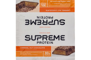 Supreme Protein Bar Caramel Nut Chocolate - 12 CT