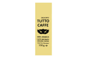 Кофе молотый Delicato Tutto Caffe м/у 100г