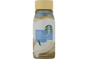 Starbucks Chilled Espresso Beverage Skinny Vanilla Latte