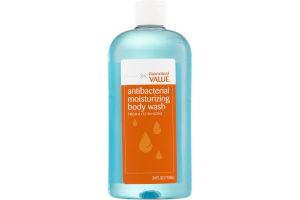 Guaranteed Value Body Wash Antibacterial Moisturizing