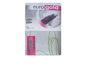 Чохол для прасувальної дошки №DC42F3M Premium Metallic EuroGold 1шт