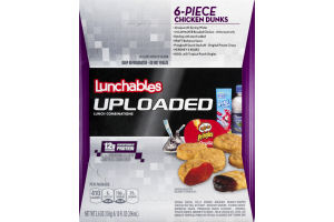 Lunchables Uploaded 6 Piece Chicken Dunks