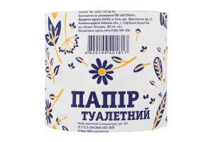 Бумага туалетная из макулатуры №817 ЛотОК 1шт