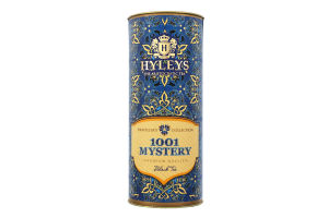 Чай чорний байховий цейлонський листовий 1001 Mystery Traveller`s Collection Hyleys туб 50г