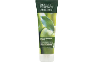 Desert Essence Organics Green Apple & Ginger Shampoo