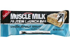 Muscle Milk Protein Crunch Bar Vanilla Almond Yogurt