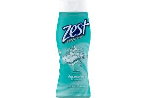 Zest Body Wash Aqua