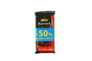 Шоколад Экстрачерний 72% Корона 180г