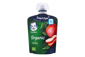 Пюре для детей от 6мес Organic Яблоко Gerber д/п 90г