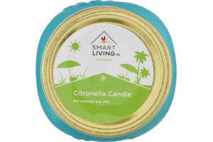 Smart Living Summer Citronella Candle