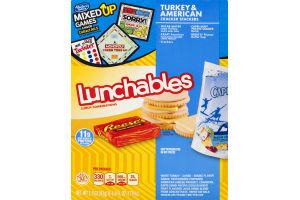 Lunchables Cracker Stackers Turkey & American 8.9 OZ