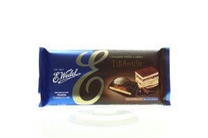Шоколад E.Wedel темний з начинкою Тірамісу 100г х19