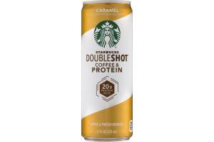 Starbucks Double Shot Coffee & Protein Caramel