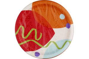 Hallmark Celebration Balloons Party Plates - 8 CT