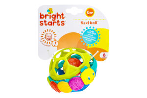 Игрушка-погремушка для детей от 0мес №8863 Мяч Bright Starts 1шт