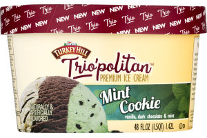 Turkey Hill Ice Cream Mint Cookie