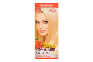 Маска тонирующая для волос Рябина Ton Мокрый песок №111 Acme Color 1шт