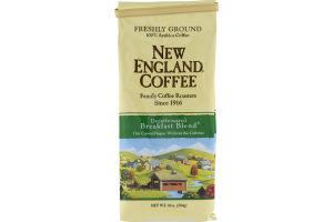 New England Coffee Decaffeinated Breakfast Blend Freshly Ground