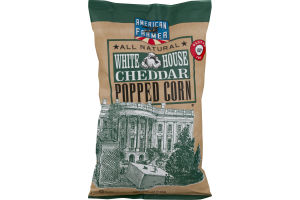 American Farmer All Natural White House Cheddar Popped Corn