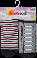 CONTE-KIDS SOF-TIKI Шкарпетки дитячі (2 пари) р.14 704 білий-сірий
