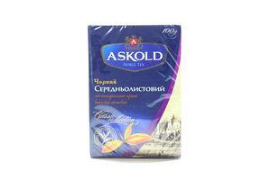 Чай черный среднелистовой Classic Collection Askold к/у 100г